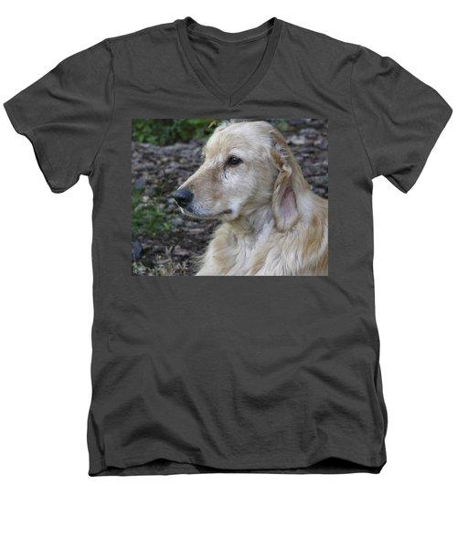 Angel A Rescue Men's V-Neck T-Shirt