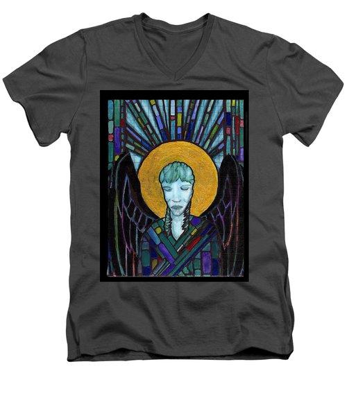 Angel Garbriel Men's V-Neck T-Shirt