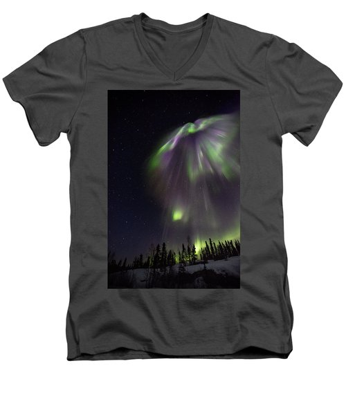 Angel In The Night Men's V-Neck T-Shirt