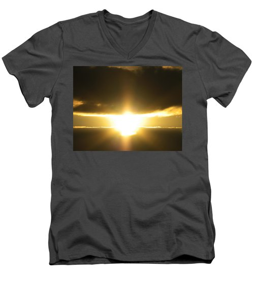 Angel Incoming Men's V-Neck T-Shirt