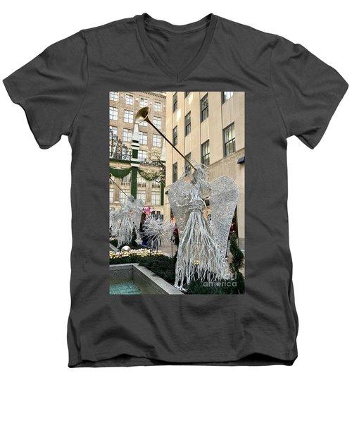 Angel New York City Men's V-Neck T-Shirt