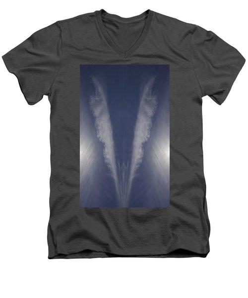 Angel Number Nine Men's V-Neck T-Shirt