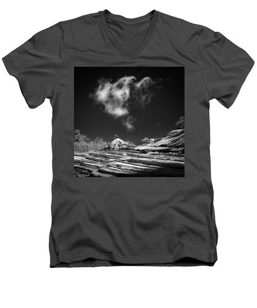 Angel Men's V-Neck T-Shirt