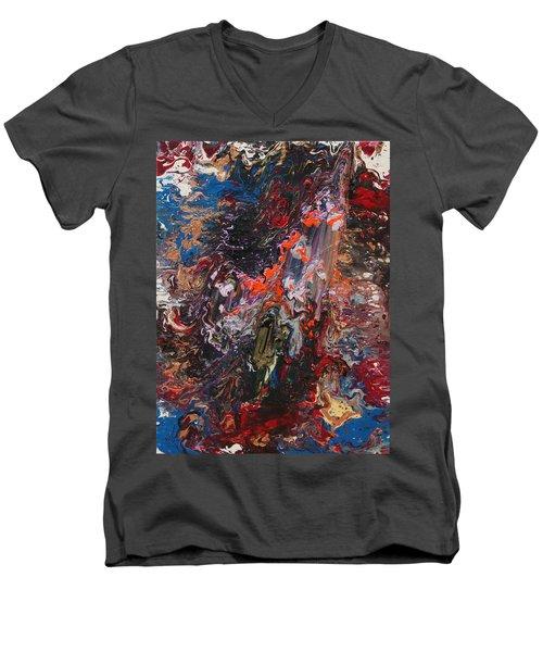 Angel Rising Men's V-Neck T-Shirt by Ralph White