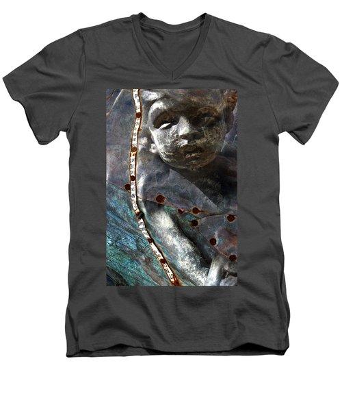 Angel Set Me Free Men's V-Neck T-Shirt