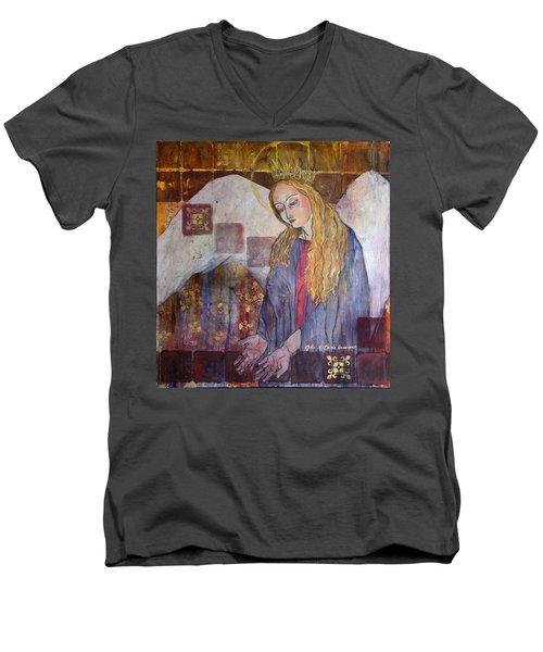 I Am Here - Seek Me Men's V-Neck T-Shirt