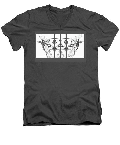 Angel Wings - Men's V-Neck T-Shirt