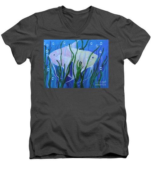 Angelfish Duo Men's V-Neck T-Shirt