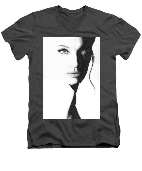 Angelina Men's V-Neck T-Shirt
