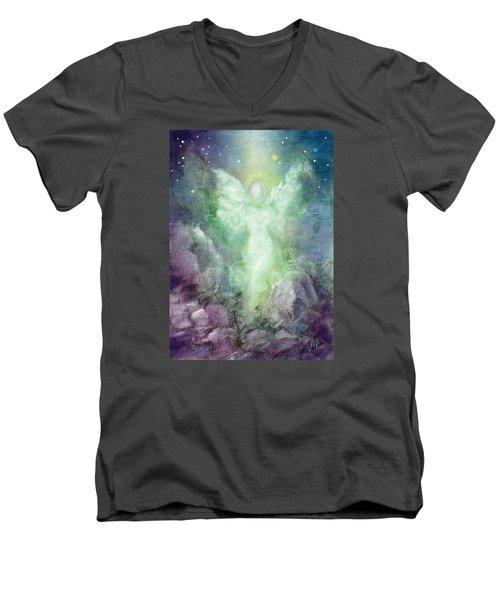 Angels Journey Men's V-Neck T-Shirt