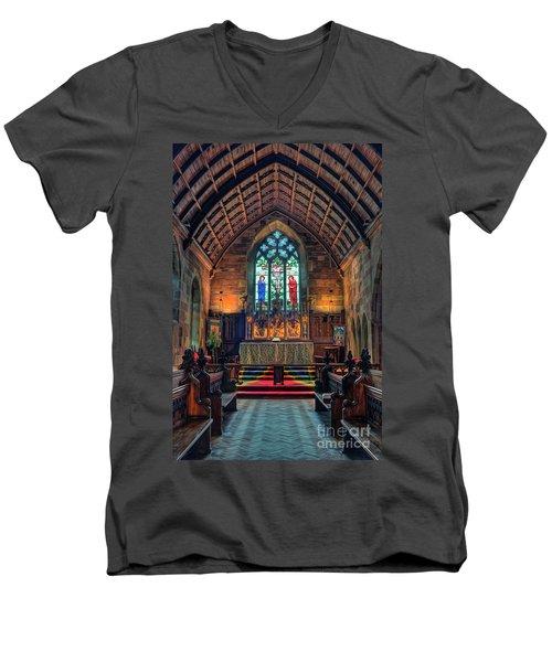 Angels Light Men's V-Neck T-Shirt