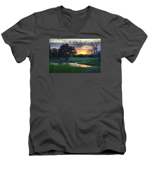 Angles Camp Men's V-Neck T-Shirt