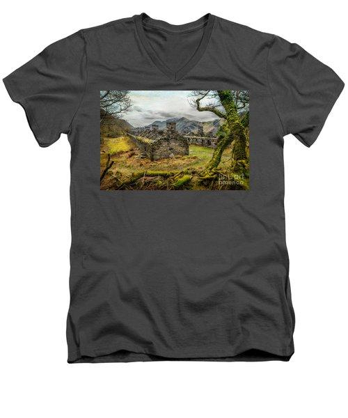 Anglesey Barracks Men's V-Neck T-Shirt by Adrian Evans