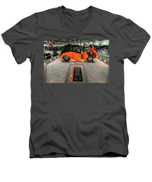 Anglia Men's V-Neck T-Shirt by Randy Scherkenbach