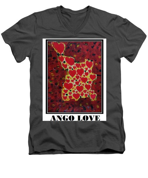 Ango Love Men's V-Neck T-Shirt