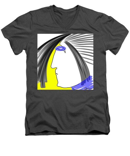 Angry 3 Men's V-Neck T-Shirt