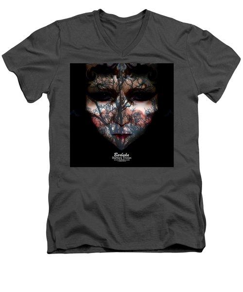 Angry Monster Child #4 Men's V-Neck T-Shirt