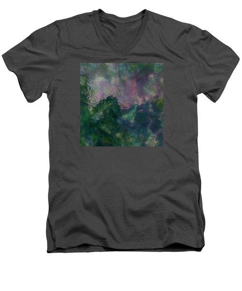 Angry Ocean Men's V-Neck T-Shirt by Alan Casadei