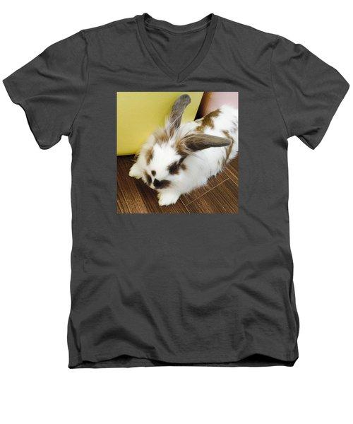 Animal Men's V-Neck T-Shirt by Nao Yos