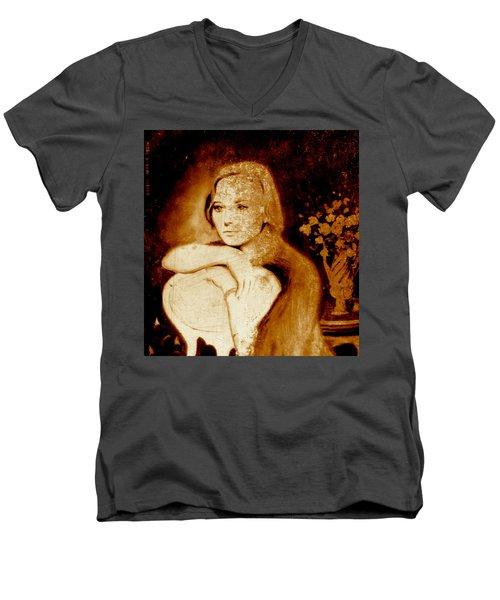Anka Men's V-Neck T-Shirt