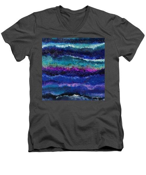 Anne's Abstract Men's V-Neck T-Shirt