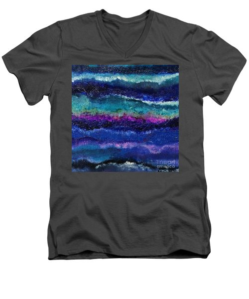 Anne's Abstract Men's V-Neck T-Shirt