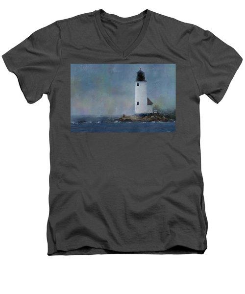 Anisquam Rain Men's V-Neck T-Shirt