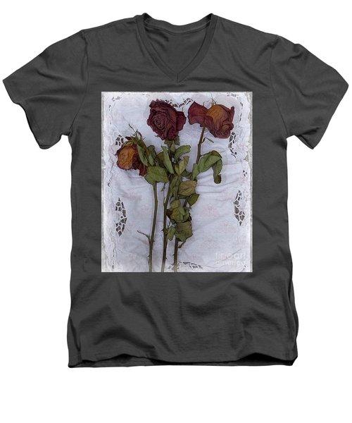 Anniversary Roses Men's V-Neck T-Shirt