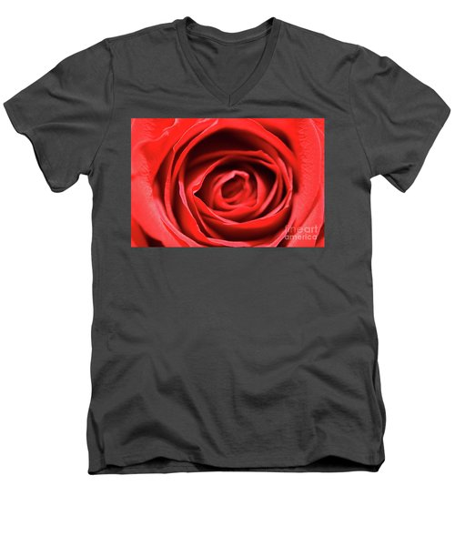 Men's V-Neck T-Shirt featuring the photograph Anonymously Deliverred by Stephen Mitchell