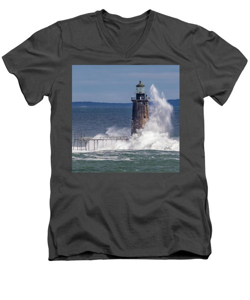 Another Day - Another Wave Men's V-Neck T-Shirt
