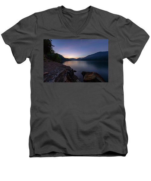 Another Day At Windy Bay Men's V-Neck T-Shirt