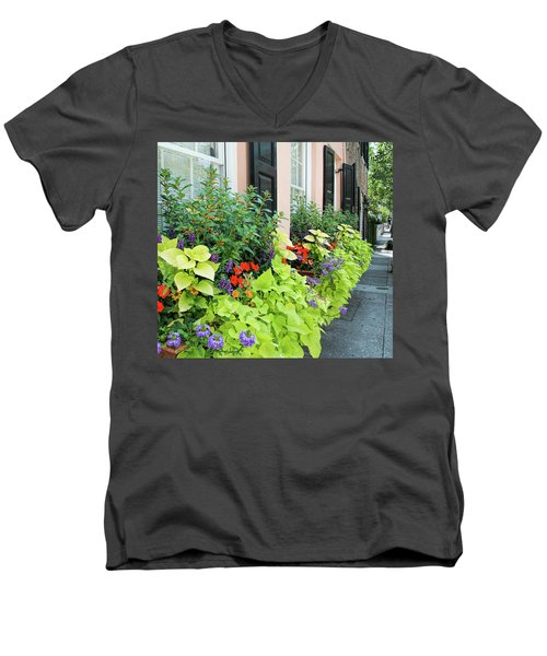Anson St. Men's V-Neck T-Shirt