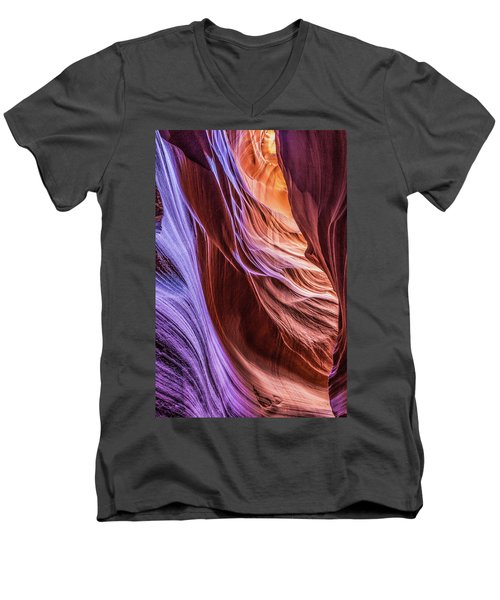 Antelope Canyon Air Glow Men's V-Neck T-Shirt