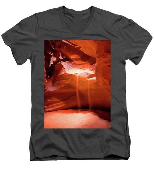 Antelope Canyon - The Falls Men's V-Neck T-Shirt