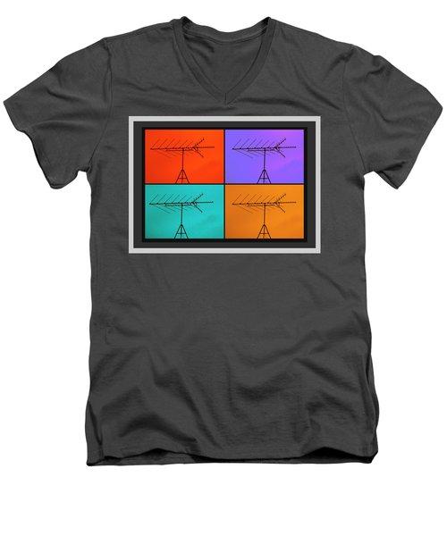 Antenna Pop 1 Men's V-Neck T-Shirt