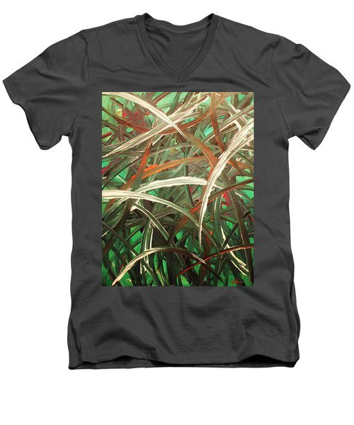 Anxiety Men's V-Neck T-Shirt