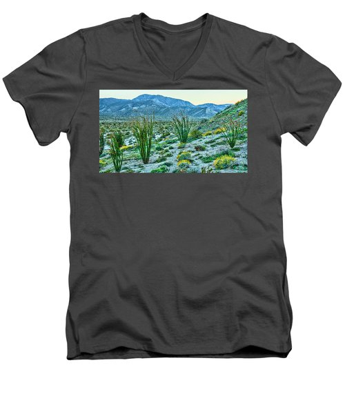 Anza Borrego Twillight Men's V-Neck T-Shirt