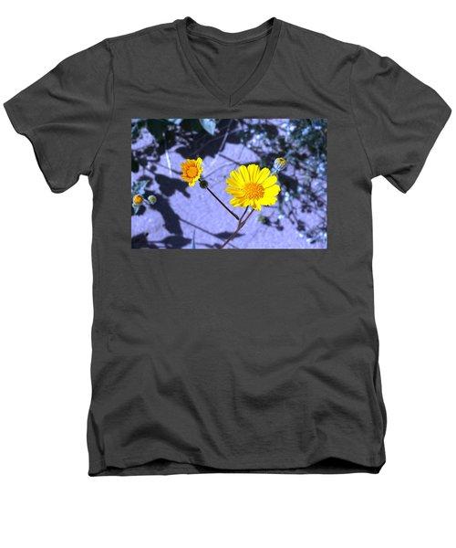 Anza Flower Men's V-Neck T-Shirt