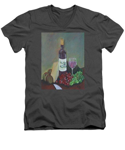 Aperitif And Appetizer Ingredients Men's V-Neck T-Shirt