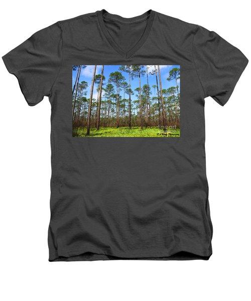 Appalachicola National Forest Men's V-Neck T-Shirt