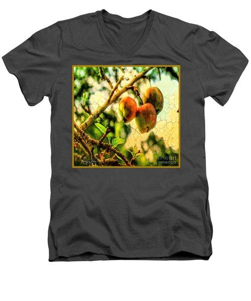Apple  Season Men's V-Neck T-Shirt