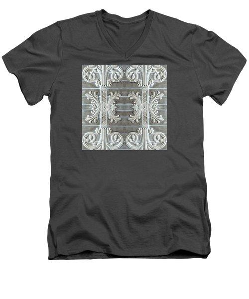 Applique No. 3 Men's V-Neck T-Shirt