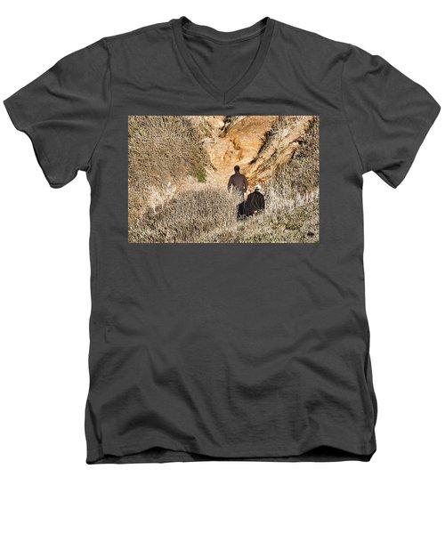 Approaching The Incline Men's V-Neck T-Shirt