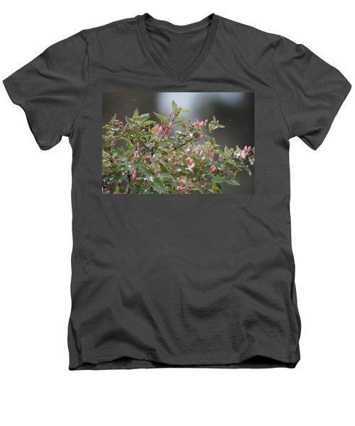 April Showers 10 Men's V-Neck T-Shirt
