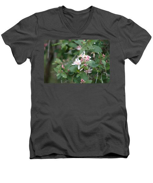 April Showers 9 Men's V-Neck T-Shirt by Antonio Romero