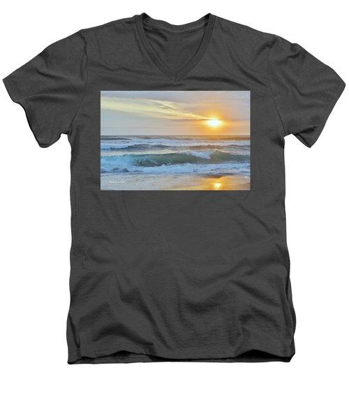 April Sunrise  Men's V-Neck T-Shirt