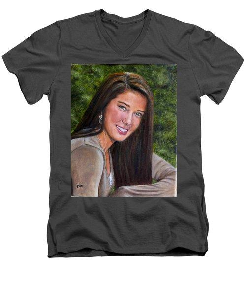 April's Love Men's V-Neck T-Shirt