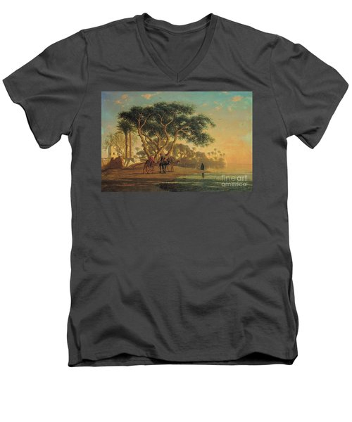 Arab Oasis Men's V-Neck T-Shirt