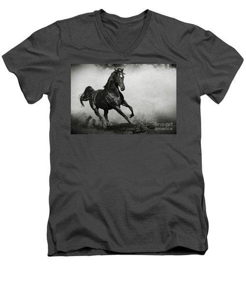Arabian Horse Men's V-Neck T-Shirt