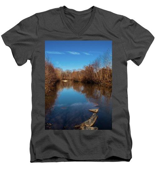 Ararat River Men's V-Neck T-Shirt